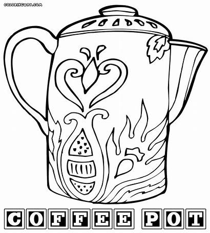 Coffee Coloring Pages Colorings Coffee7