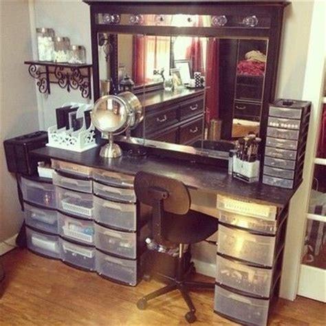 dressing table plastic storage drawers diy vanity diy
