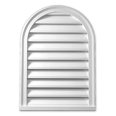 Decorative Gable Vents Canada by Fypon 16 Inch X 36 Inch X 2 Inch Polyurethane Decorative