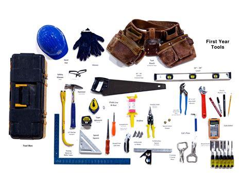 tools lists  england carpenters training fund