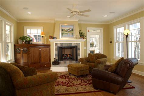 Farmhouse Cottage Living Room