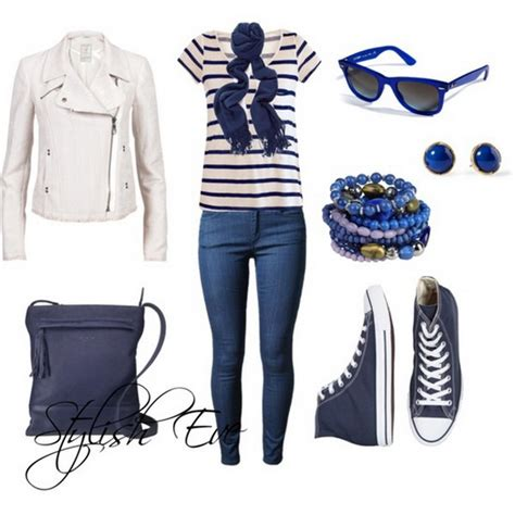 Blue Winter 2013 Outfits for Women by Stylish Eve | Stylish Eve