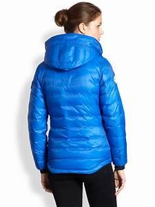 Lyst Canada Goose Down Polar Bear International Camp Jacket In Blue