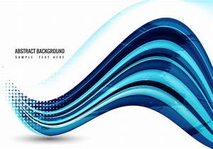Free Blue Wave Vector - Download Free Vector Art, Stock ...