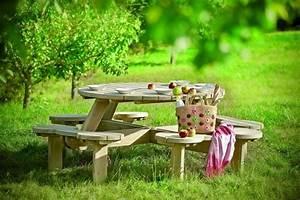 Gartenbank Holz Mit Tisch : holz gartenbank gartenklassiker und trend des sommes 15 coole designs ~ Bigdaddyawards.com Haus und Dekorationen
