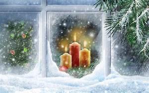 Christmas, Lights, Widescreen, Wallpapers