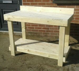 ft  workbench thick plywood worktop wooden