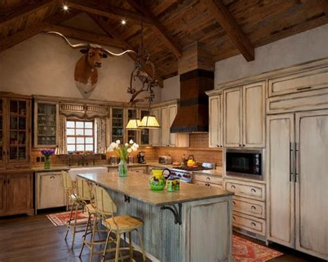 Western Kitchen Home Design Ideas, Pictures, Remodel And Decor