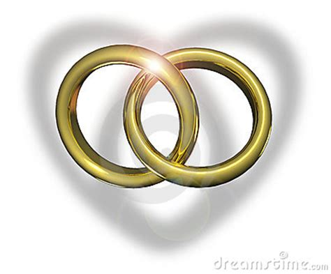 linked wedding rings royalty  stock image image