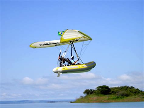 Hang Glider Boat by Feature Build It Yourself Flying Boat Cruises At 44mph