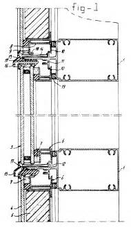patent ep0221605b2 curtain wall in particular with