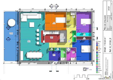 plan de maison 5 chambres plain pied gratuit plan maison plain pied 3 chambres 3d maison moderne
