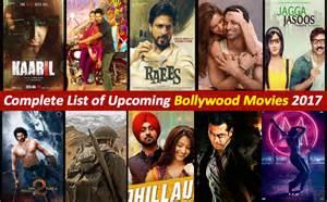 Bollywood Upcoming Movies 2017