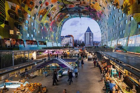 Markthal in Rotterdam by MVRDV   Buildings   Architectural