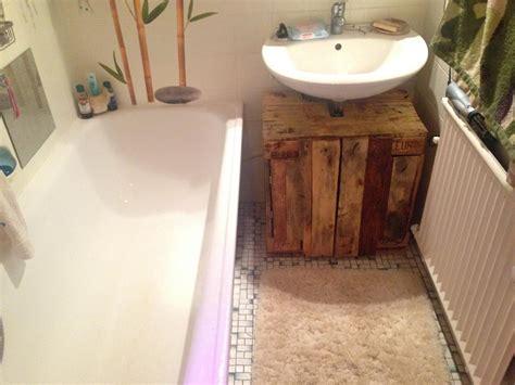 Badezimmermöbel Aus Paletten by Badezimmerschrank Waschbecken Unterschrank Aus