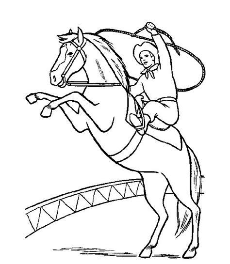 Kleurplaat Circuspaard by N 63 Kleurplaten Paarden