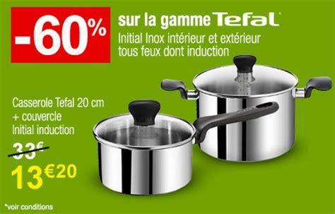 batterie cuisine induction tefal auchan 60 de réduction sur la gamme tefal