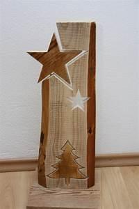 Weihnachtsdeko Selber Machen Holz : deko objekte weihnachtsdeko stele aus holz ein designerst ck von holzdeko isny bei dawanda ~ Frokenaadalensverden.com Haus und Dekorationen