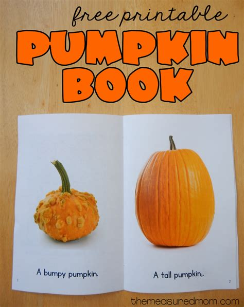 books about pumpkins for preschool free printable pumpkin book the measured 586