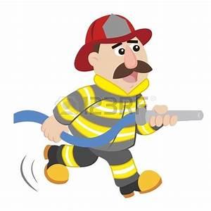 Cartoon Firefighter Clipart - Clipart Suggest