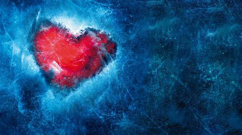 wallpaper love heart frozen hd  love