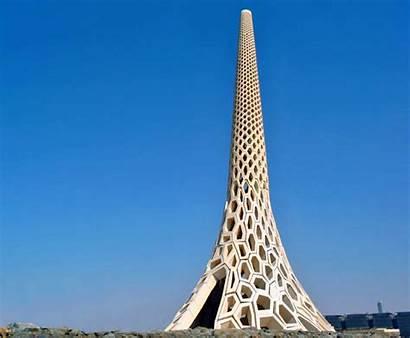 Beacon Kaust Breakwater Lighthouse Saudi Architecture Arabia
