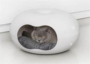 Panier Chat Pas Cher : couffin pour chat corbeille chat 39 39 doonut 39 39 animaloo ~ Teatrodelosmanantiales.com Idées de Décoration