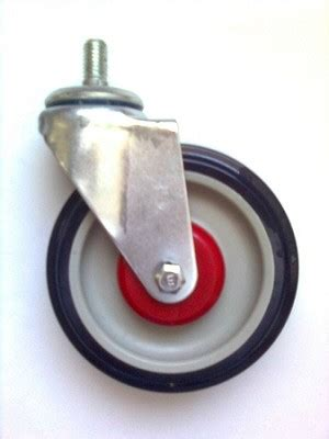 friction wheel caster