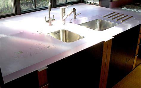 Custom Resin Kitchen Countertops Modernkitchen