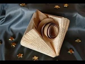 Basteln Mit Buchseiten : deko basteln mit alten buchseiten tinker deco of old book pages einfach youtube b cher ~ Eleganceandgraceweddings.com Haus und Dekorationen