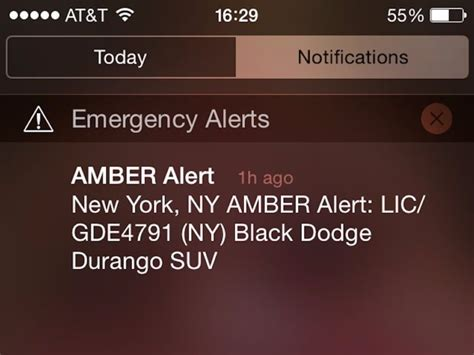 How To Turn Off Iphone Emergency Amber Alerts Business