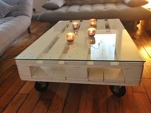 Plaque De Verre Pour Table : diy une table basse en palette la clamartoise ~ Dailycaller-alerts.com Idées de Décoration