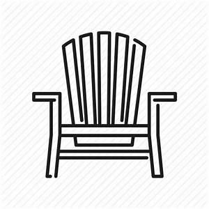 Adirondack chair, beach, chair, deckchair, seaside, travel