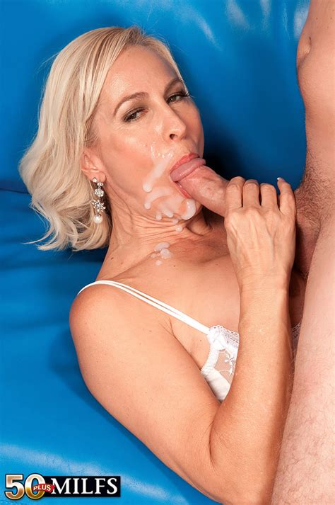 Hot Mature Blonde Carrie Romano Bangs A Younger Colames