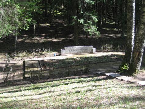 Priekuļi Municipality, the Niniera Lake : Holocaust ...