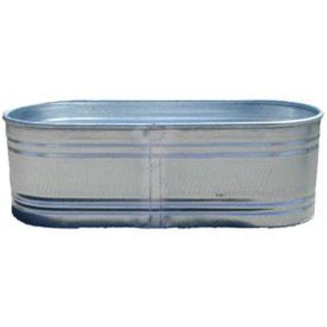 Galvanized Water Trough Tub by Marianne S Rentals Galvanized Trough Rentals