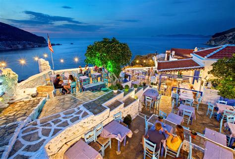 skopelos drink eat places greece island greeka restaurants travel things shutterstock sporades