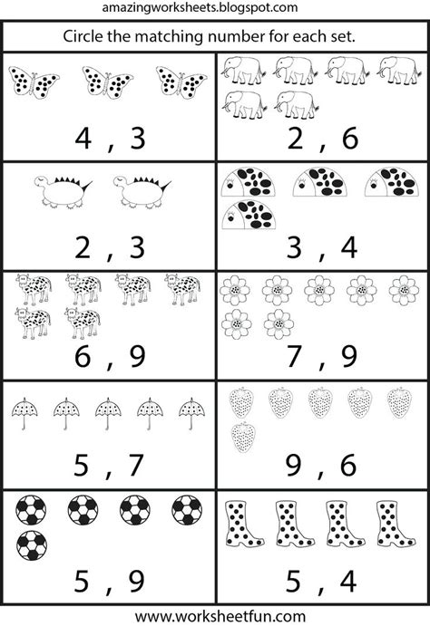 free kindergarten worksheets worksheet mogenk