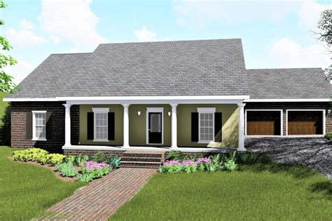 house plans 4 bedrm 1729 sq ft country house plan 123 1078