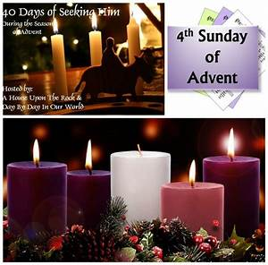 Week 4 Advent Reading : the 4th sunday of advent is here the o 39 jays and advent ~ Haus.voiturepedia.club Haus und Dekorationen