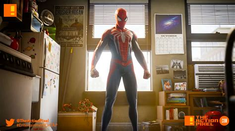Marvels Spider Man Ps4 Game Give Us Insight Into The