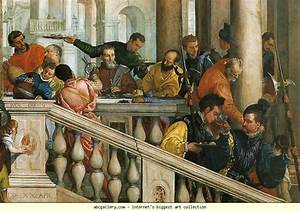 Paolo Veronese. Feast in the House of Levi. Detail.