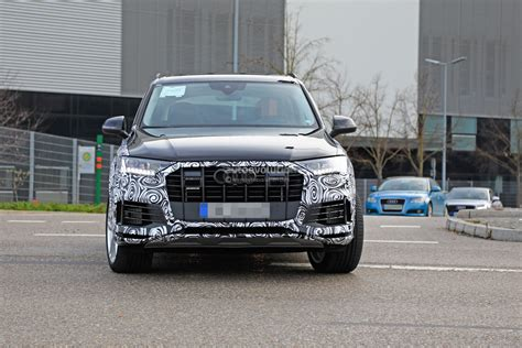 Audi Q5 Facelift 2020 by 2020 Audi Q7 Facelift Spied Features Dual Screen