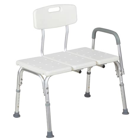 Adjustable 10 Height Medical Shower Chair Bath Tub Bench