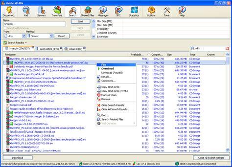 emule best server emule project net official emule homepage downloads