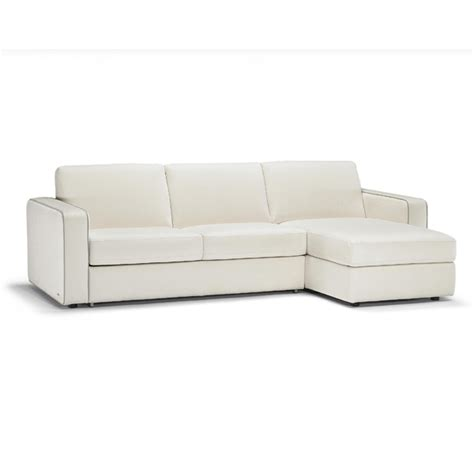 natuzzi editions pescara sofa bed with storage chaise