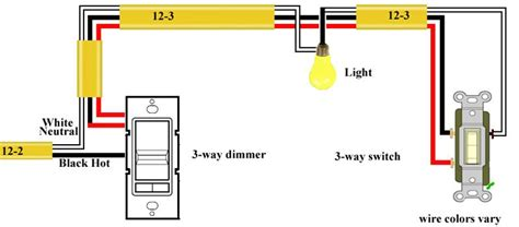 3 Way Switch Dimmer Wiring Diagram by 3 Way Dimmer Switch Wiring Diagram Electrical Services