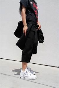 Aleali May styles the Air Jordan 4 u0026#39;Pure Moneyu0026#39; for Summer 2017