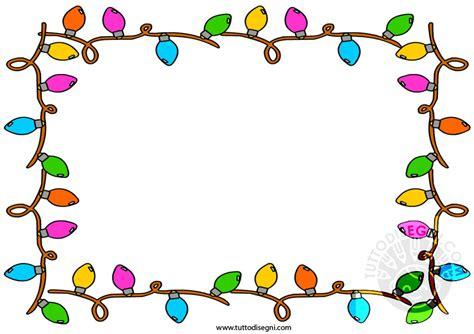 Cornice Di Natale Per Bambini Cornicetta Con Di Natale Tuttodisegni