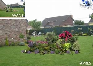 emejing massif dans mon jardin images design trends 2017 With modele de rocaille pour jardin 1 mon jardin en automne suite